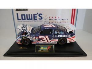 mike skinner 1999 lowes special olimpis 1/24 diecast