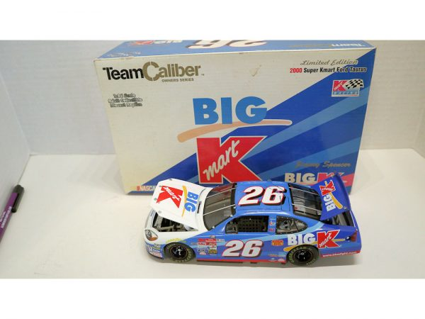 jimmy spencer 2000 big kmart owners 1/24 diecast