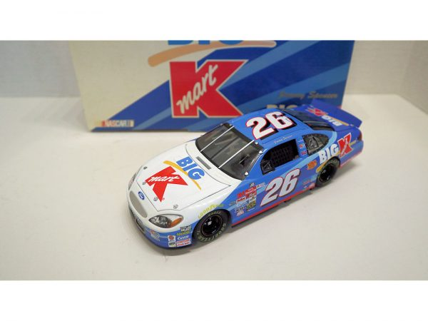 jimmy spencer 2000 team caliber big kmart 1/24 diecast